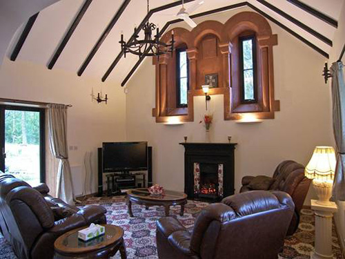 Self Catering Church Near Inverarnan Loch Lomond Beinglas Farm Campsite