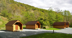 Beinglas Campsite camping cabins